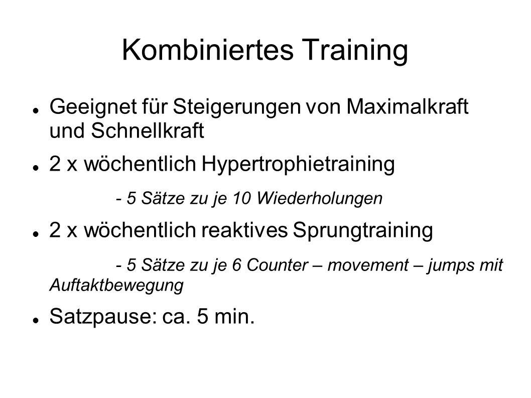 Kombiniertes Training