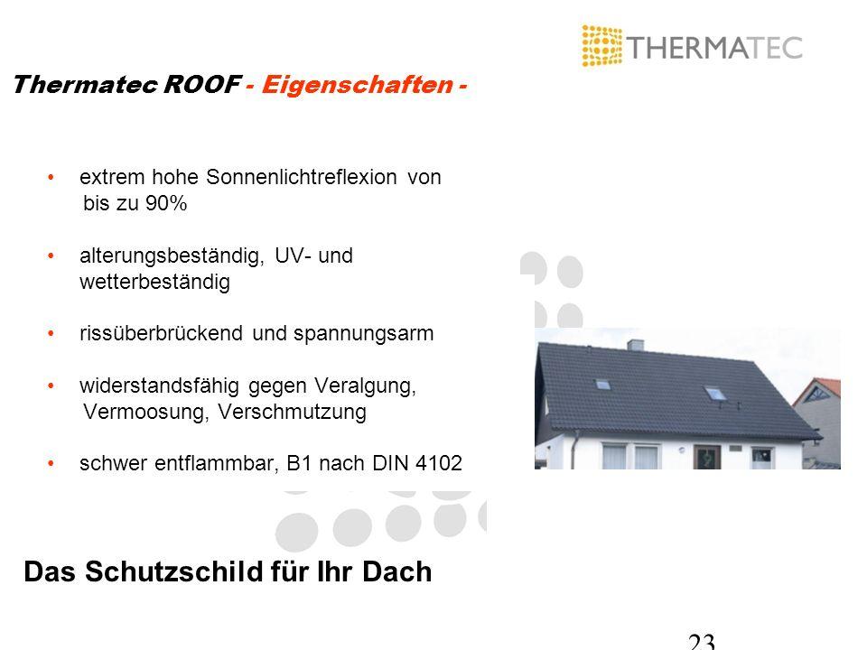 Das Schutzschild für Ihr Dach