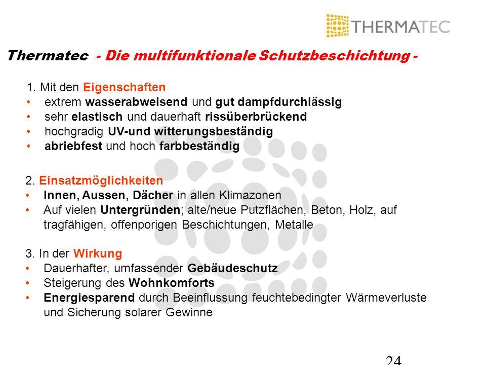 Thermatec - Die multifunktionale Schutzbeschichtung -