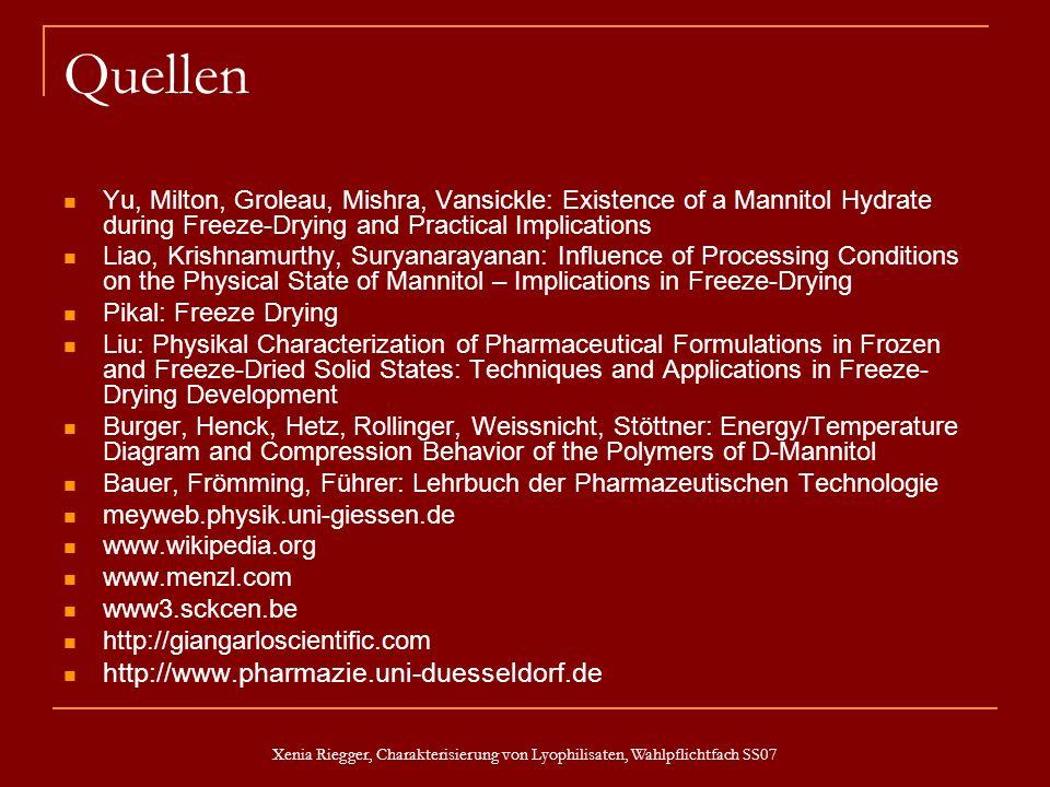 Quellen http://www.pharmazie.uni-duesseldorf.de