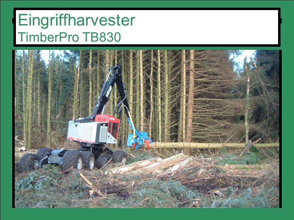 Eingriffharvester TimberPro TB830