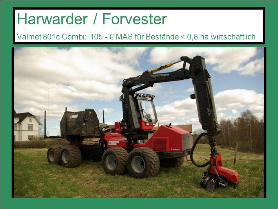 Harwarder / Forvester Valmet 801c Combi: 105
