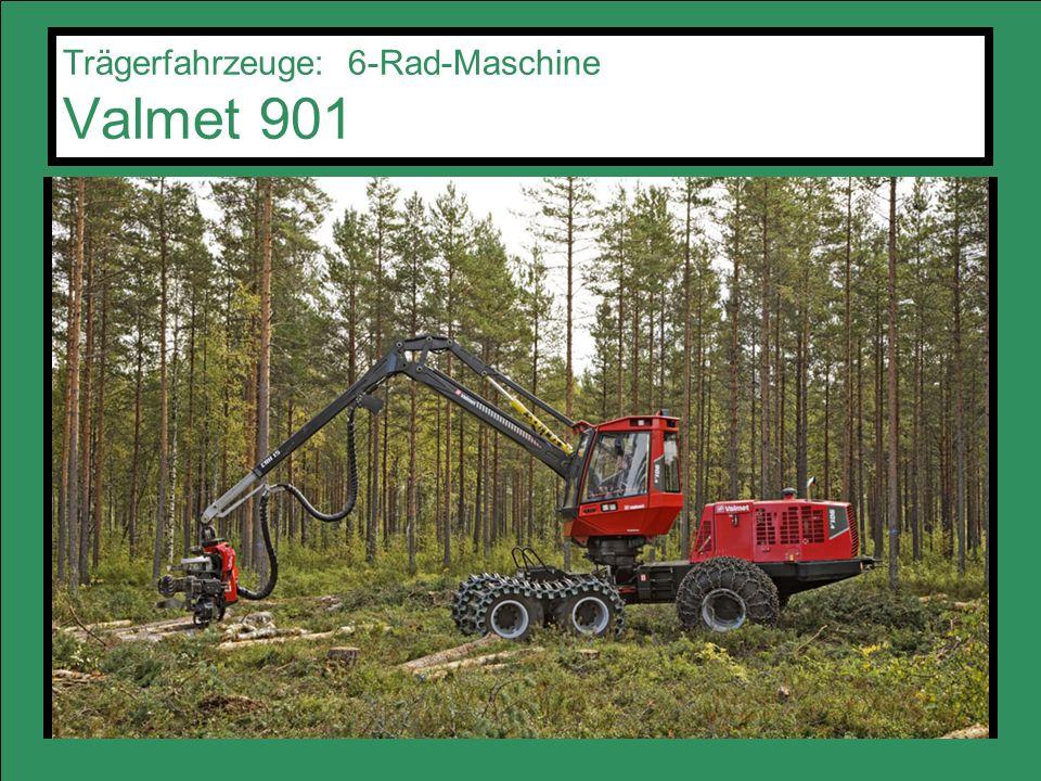Trägerfahrzeuge: 6-Rad-Maschine Valmet 901
