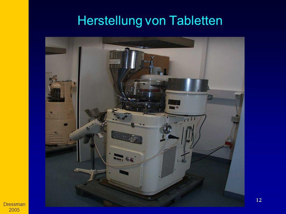 Herstellung von Tabletten