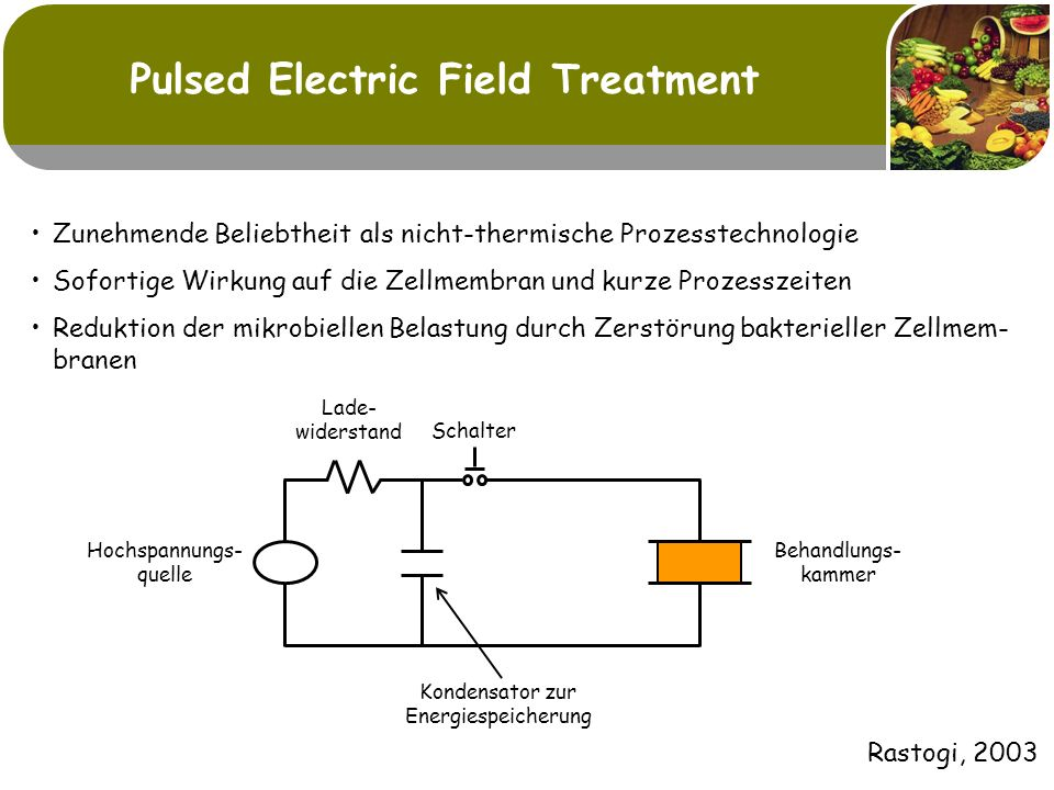 Pulsed Electric Field Treatment