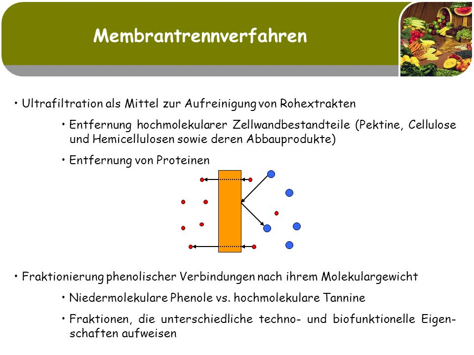 Membrantrennverfahren