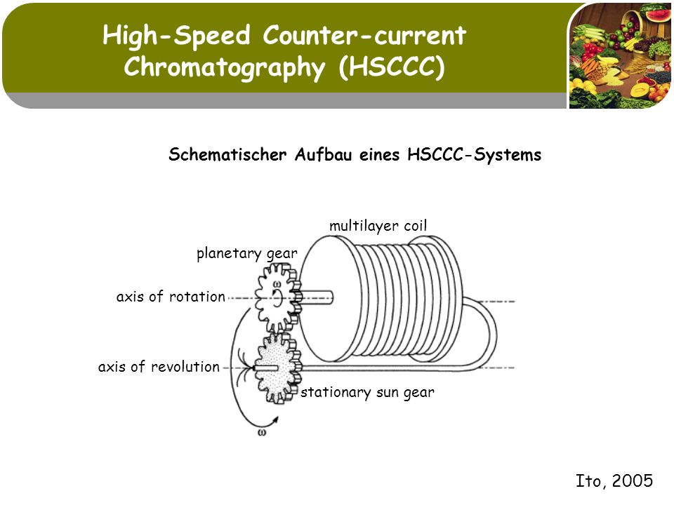 High-Speed Counter-current Chromatography (HSCCC)