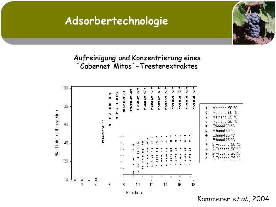Adsorbertechnologie Kammerer et al., 2004.