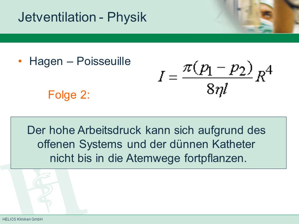 Jetventilation - Physik