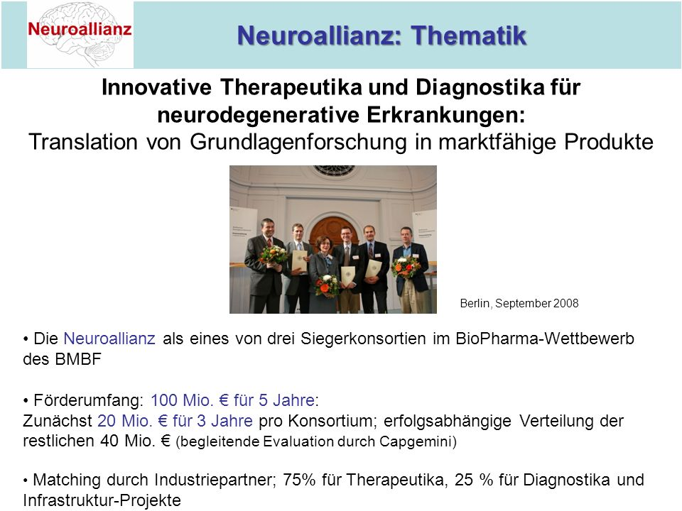 Neuroallianz: Thematik