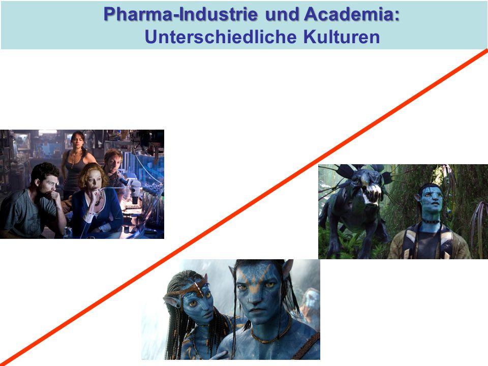 Pharma-Industrie und Academia: Unterschiedliche Kulturen