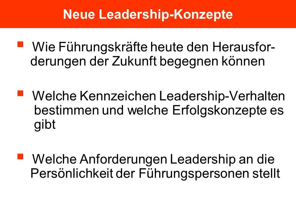 Neue Leadership-Konzepte