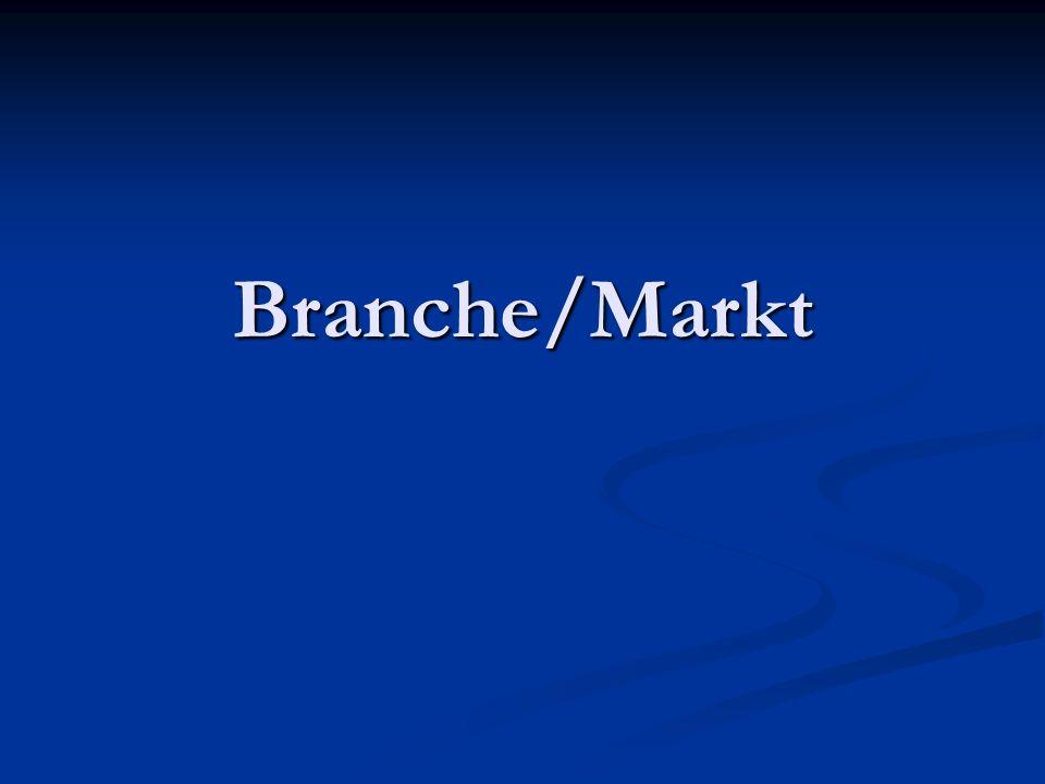Branche/Markt