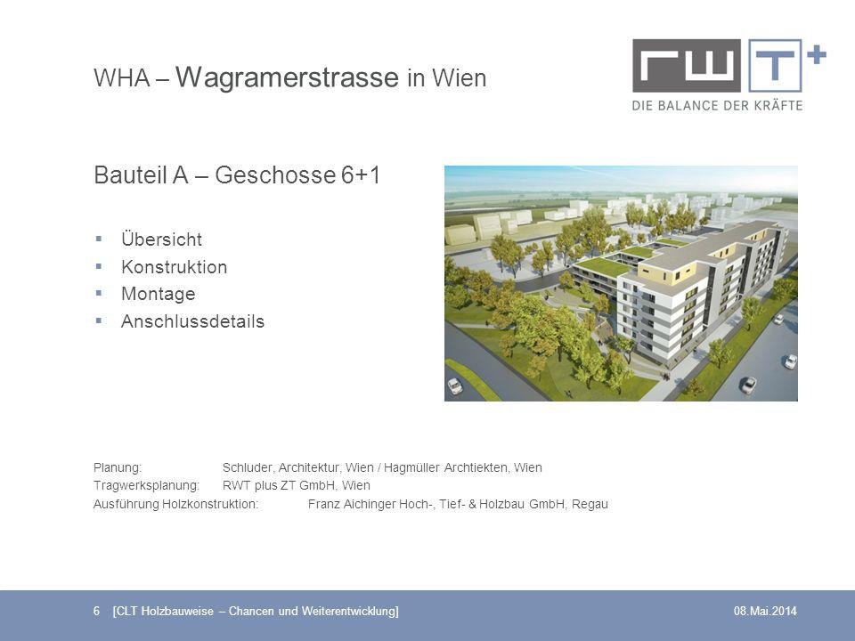 WHA – Wagramerstrasse in Wien