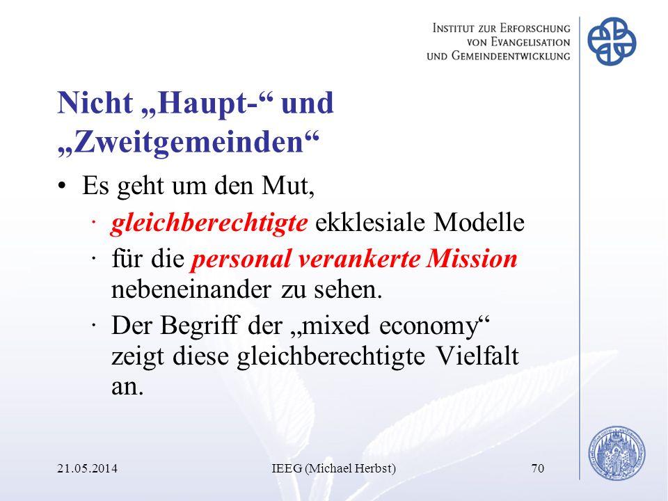 """Nicht """"Haupt- und """"Zweitgemeinden"""