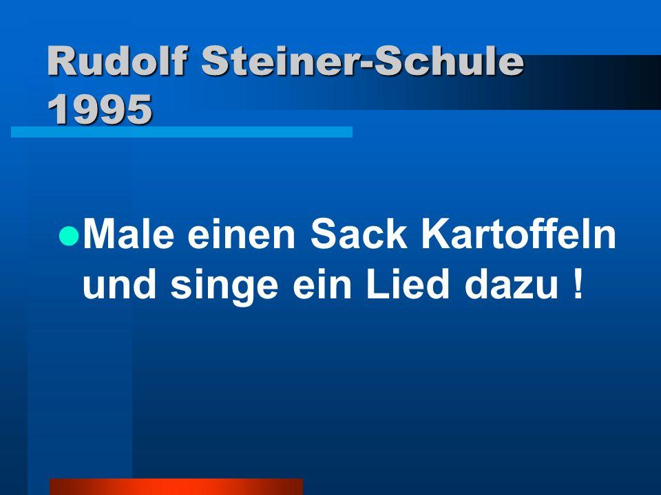 Rudolf Steiner-Schule 1995