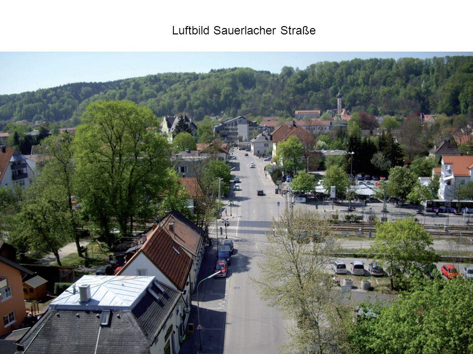 Luftbild Sauerlacher Straße