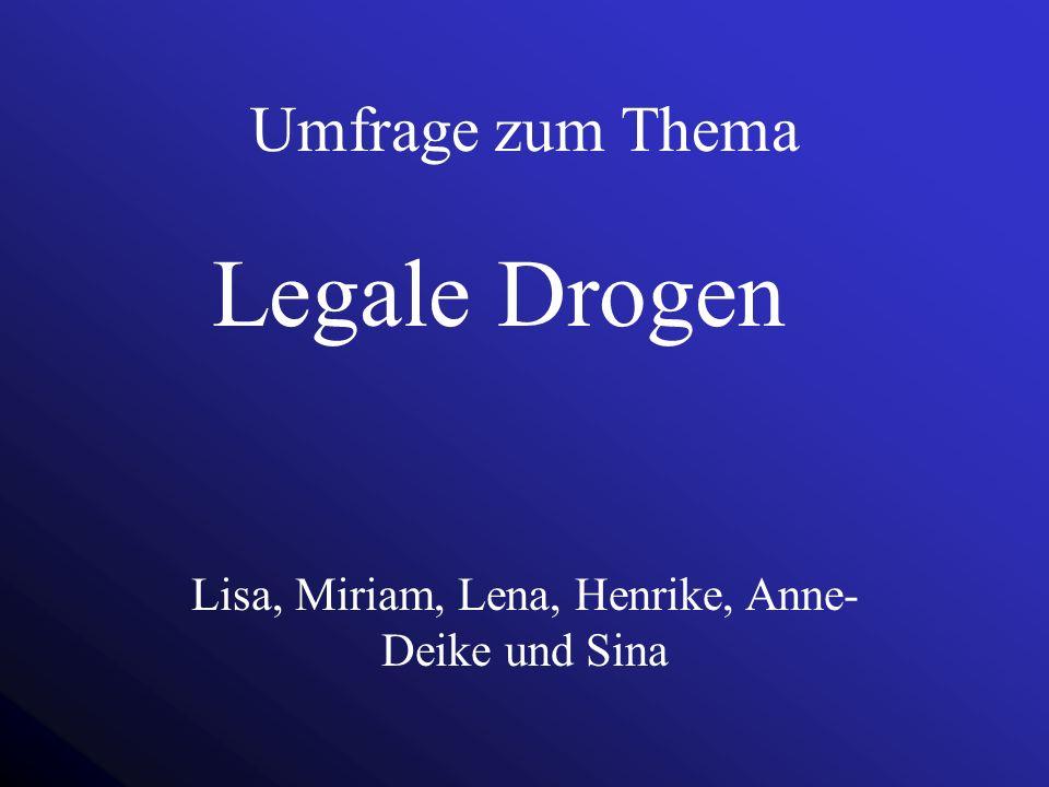 Lisa, Miriam, Lena, Henrike, Anne-Deike und Sina