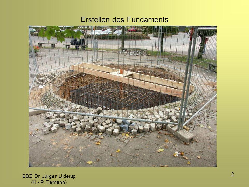 Erstellen des Fundaments