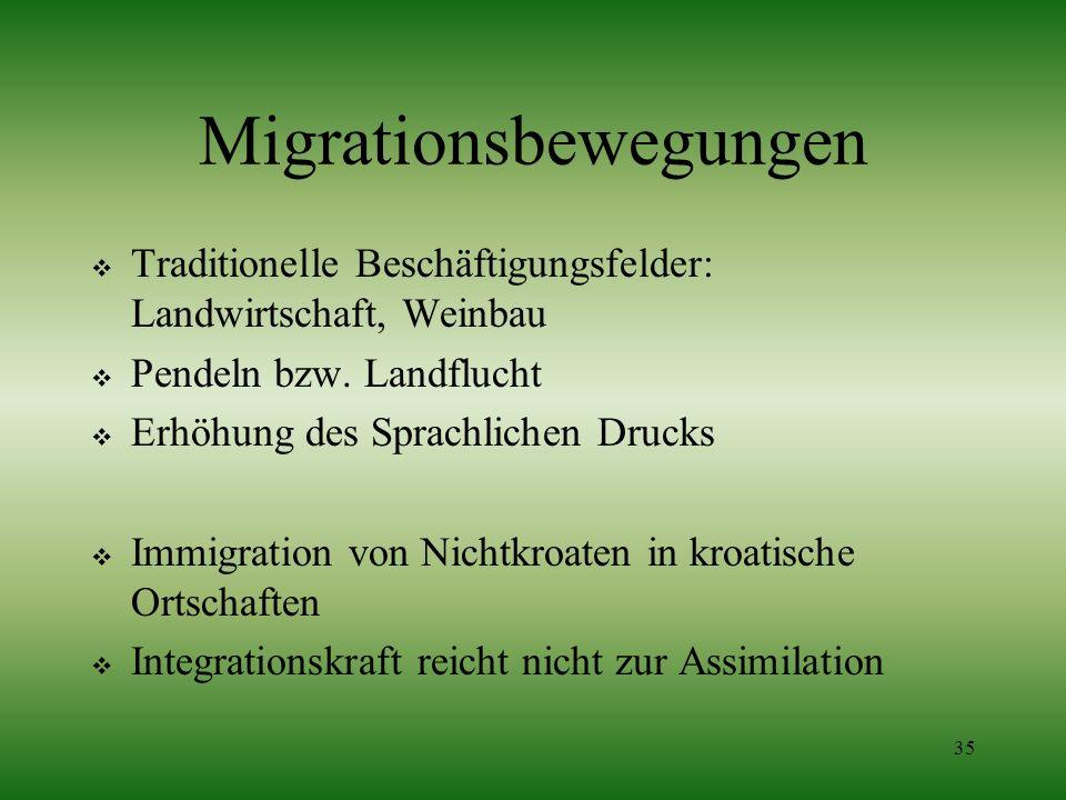 Migrationsbewegungen