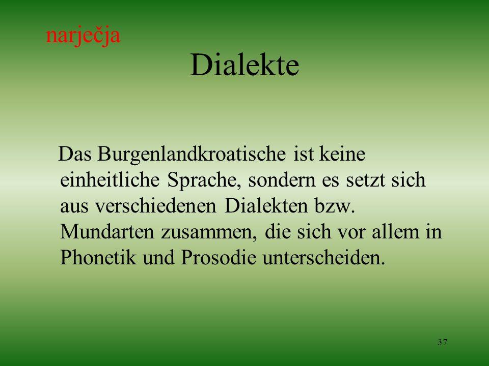 narječja Dialekte.