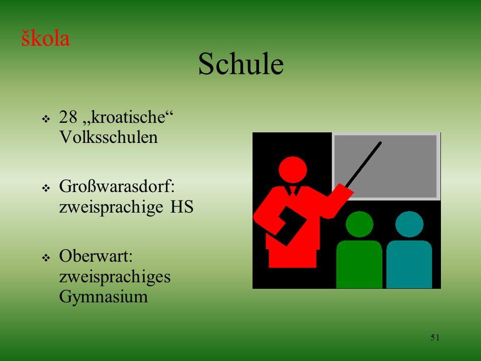 """Schule škola 28 """"kroatische Volksschulen"""