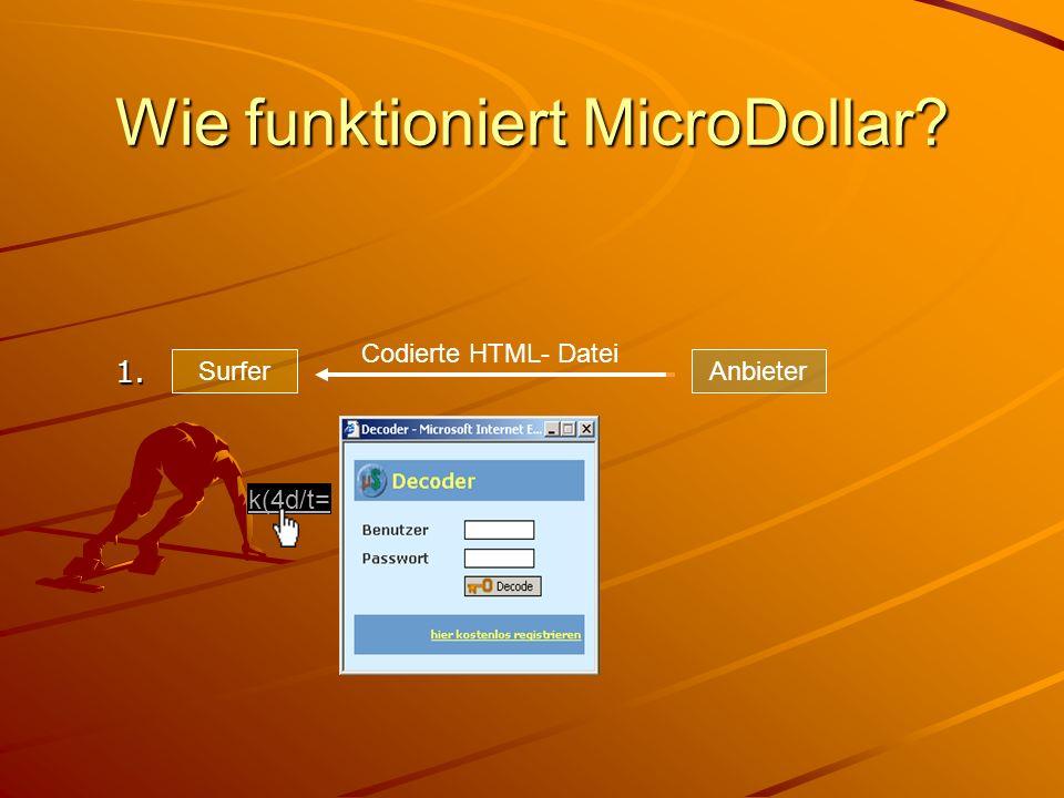 Wie funktioniert MicroDollar
