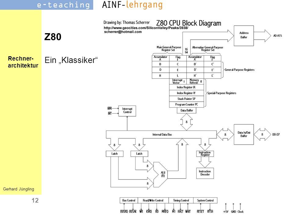 """Z80 Ein """"Klassiker"""