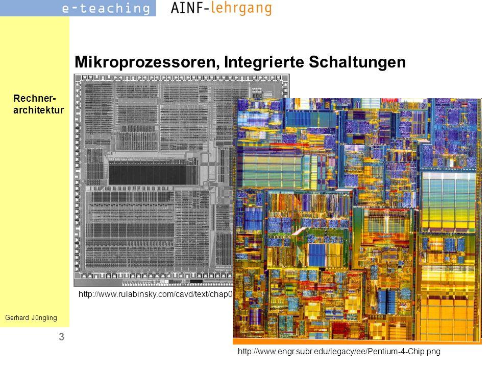 Mikroprozessoren, Integrierte Schaltungen