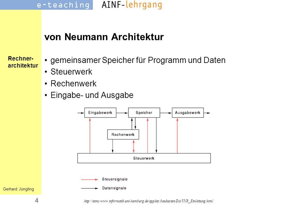 von Neumann Architektur