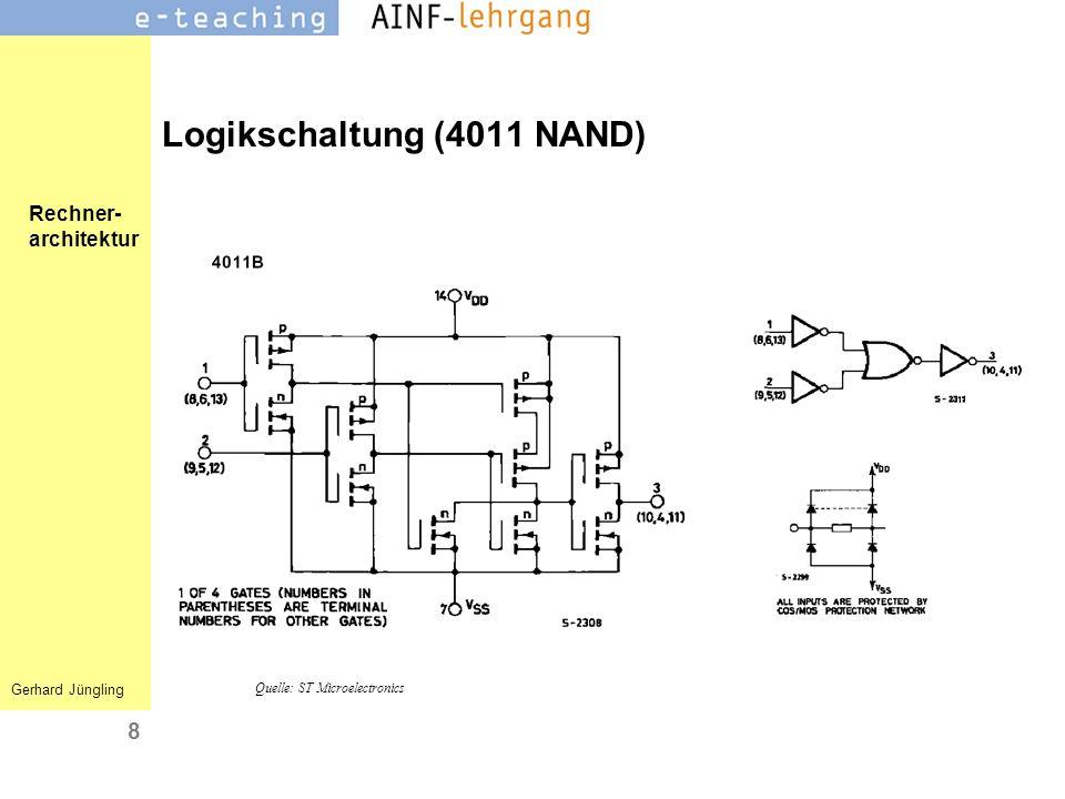 Logikschaltung (4011 NAND)