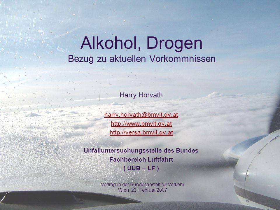 Alkohol, Drogen Bezug zu aktuellen Vorkommnissen