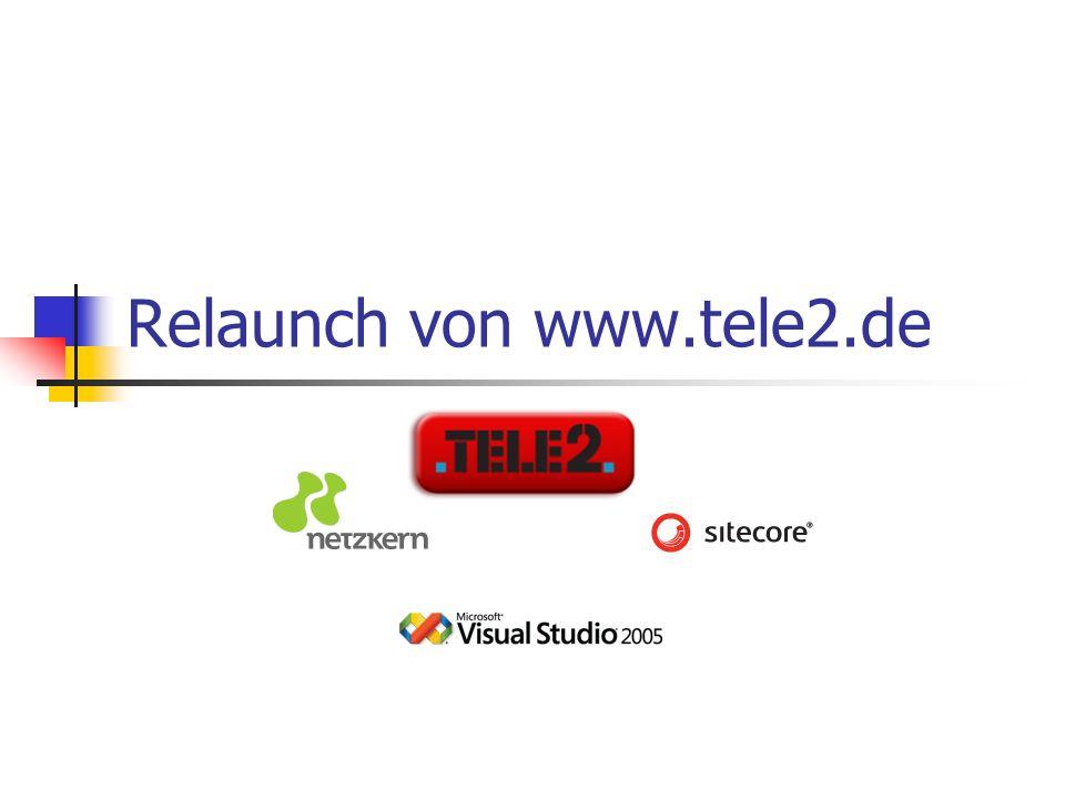 Relaunch von www.tele2.de