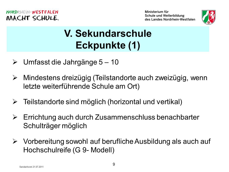 V. Sekundarschule Eckpunkte (1)