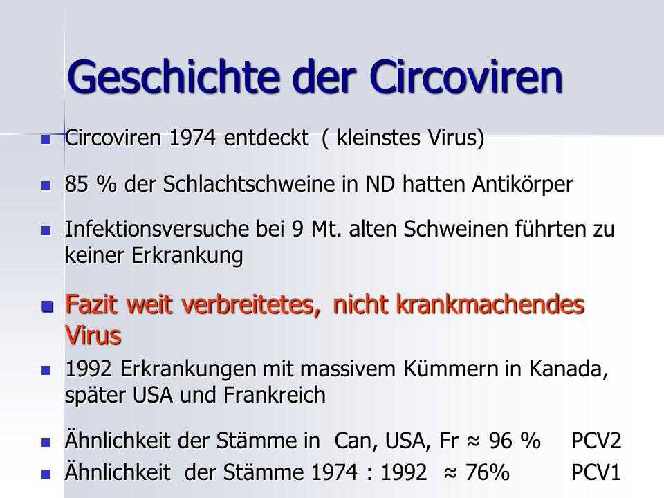 Geschichte der Circoviren