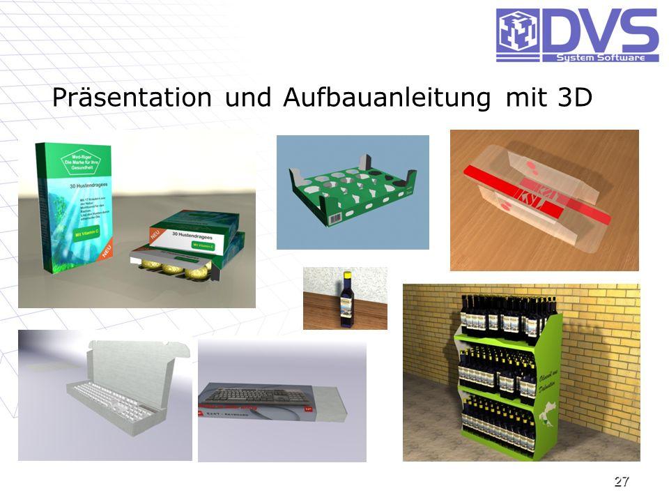 Präsentation und Aufbauanleitung mit 3D