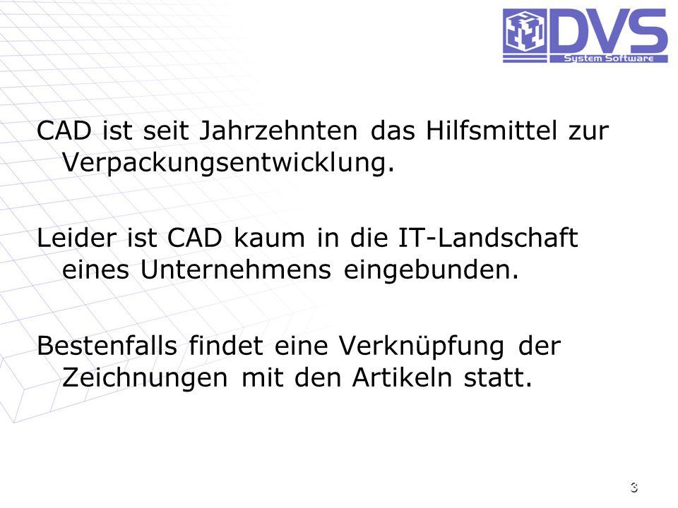 CAD ist seit Jahrzehnten das Hilfsmittel zur Verpackungsentwicklung