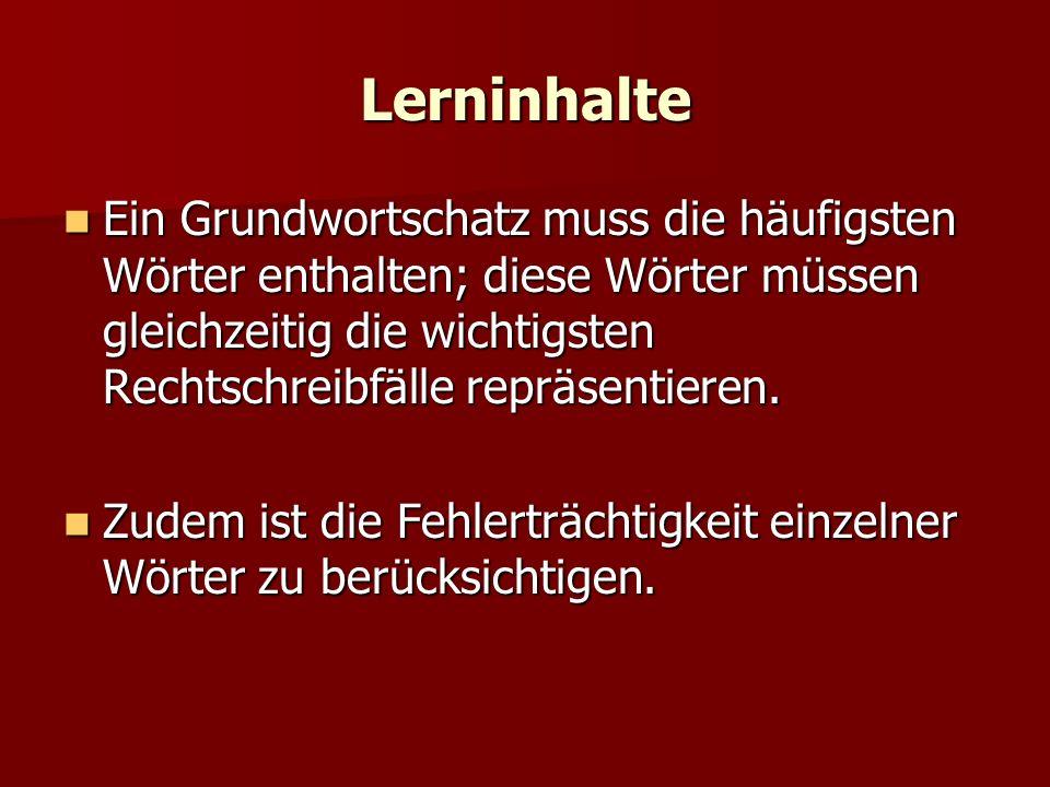 Lerninhalte