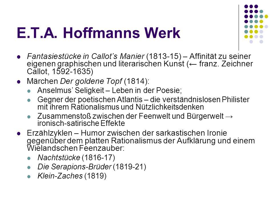 E.T.A. Hoffmanns Werk
