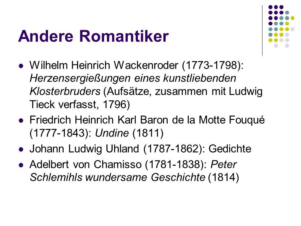 Andere Romantiker
