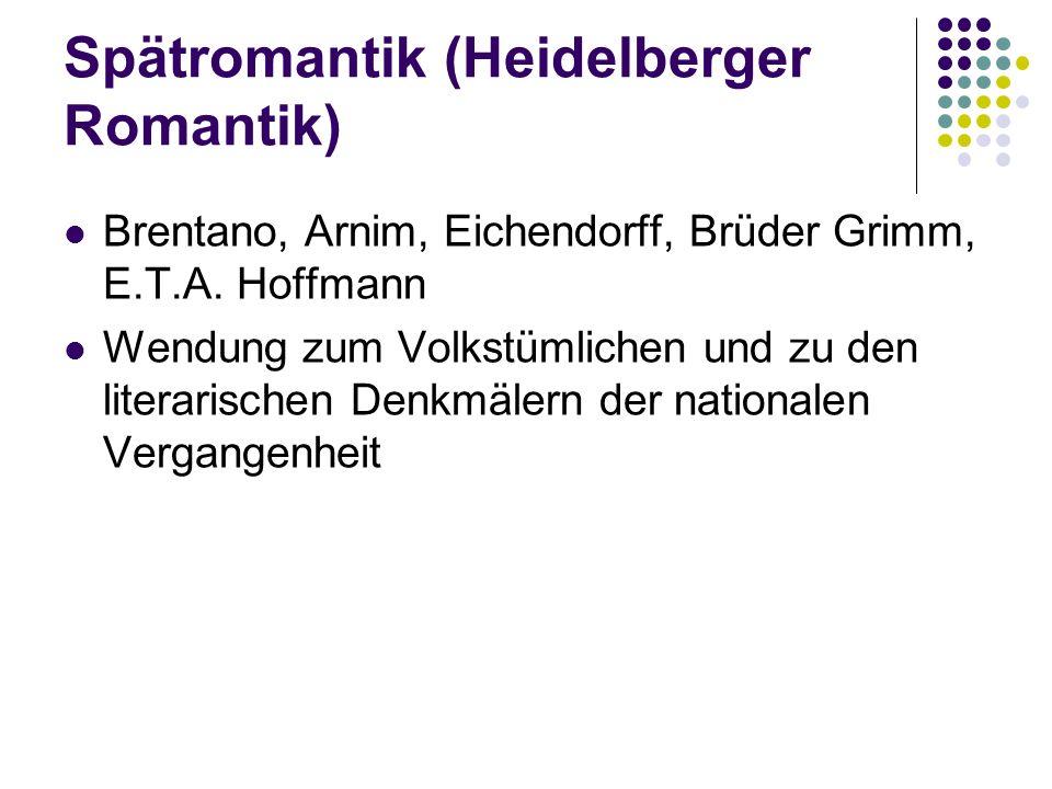 Spätromantik (Heidelberger Romantik)
