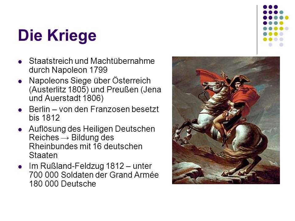 Die Kriege Staatstreich und Machtübernahme durch Napoleon 1799