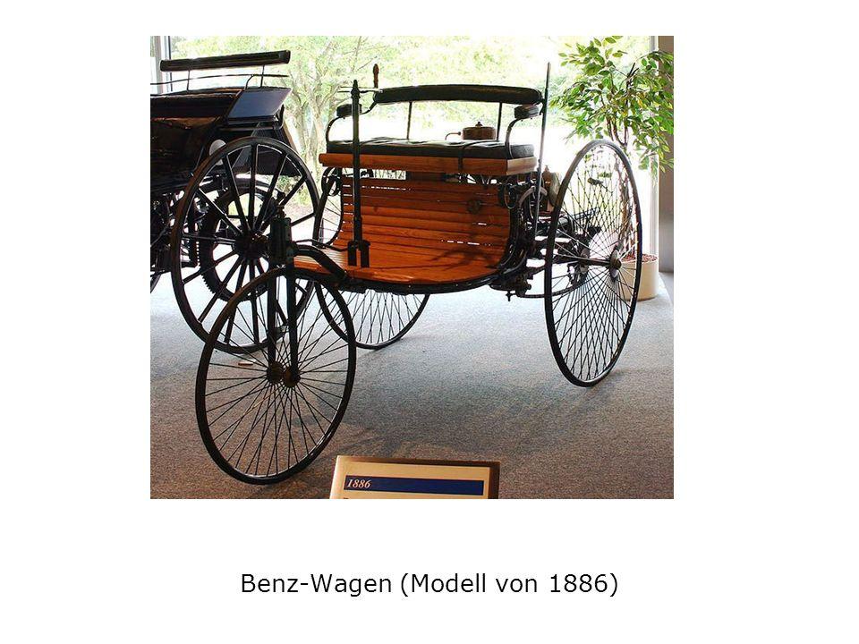 Benz-Wagen (Modell von 1886)