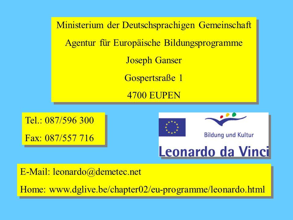 Ministerium der Deutschsprachigen Gemeinschaft