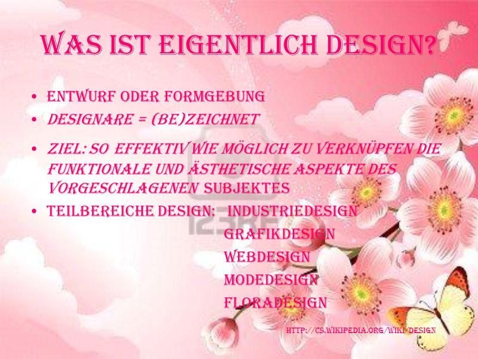 Was ist eigentlich Design