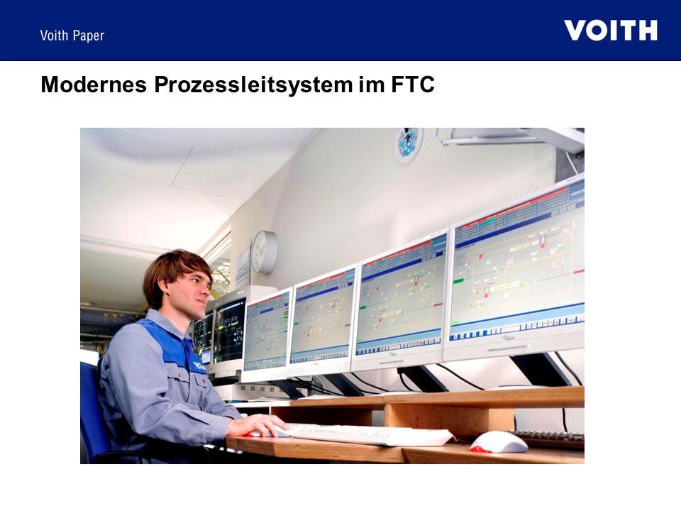 Modernes Prozessleitsystem im FTC