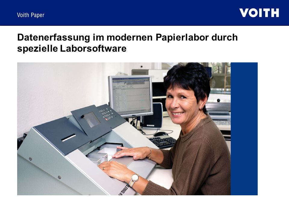 Datenerfassung im modernen Papierlabor durch spezielle Laborsoftware