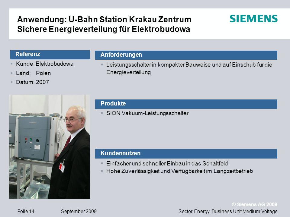 Anwendung: U-Bahn Station Krakau Zentrum Sichere Energieverteilung für Elektrobudowa