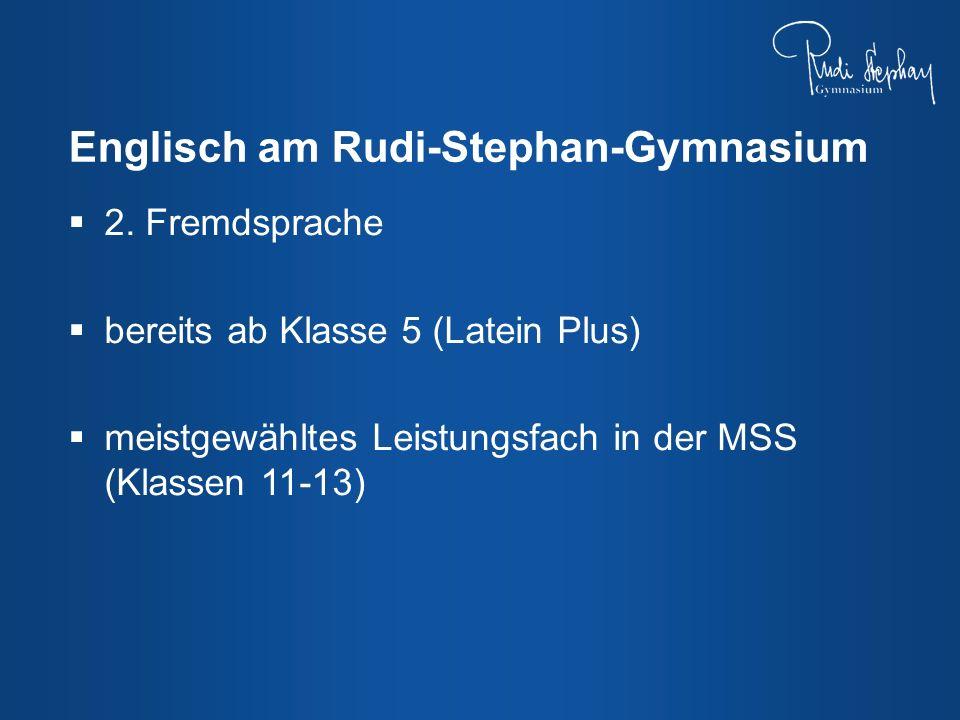 Englisch am Rudi-Stephan-Gymnasium