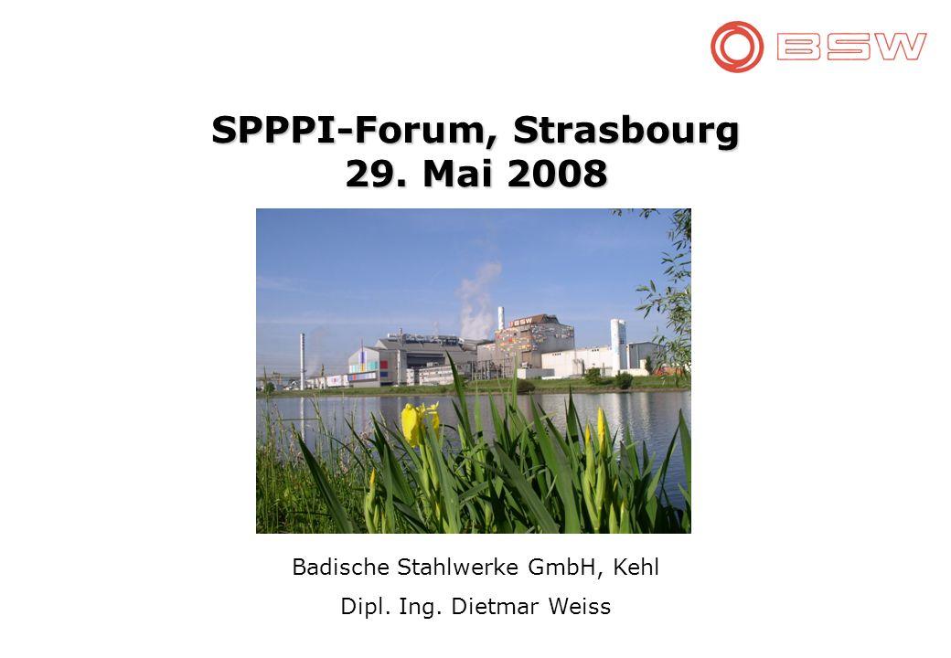 SPPPI-Forum, Strasbourg 29. Mai 2008